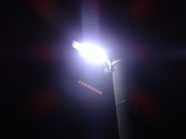 夜ランにおすすめ。コストコの「STEELMAN PRO」がめっちゃ照らしてくれる。
