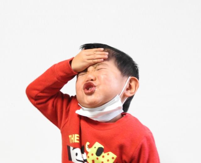 子どもが風邪を引いたら検温計「けんおんくん」がおすすめ