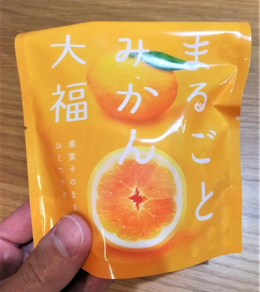和菓子処中越|金沢駅でお土産買うなら「丸ごとみかん大福」がおすすめ