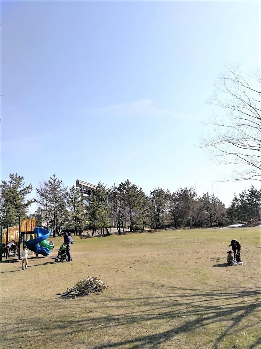 松任総合運動公園公園|白山市にある自然やサッカー場に囲まれた公園