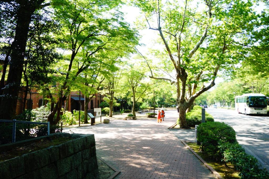 石川県立歴史博物館赤レンガ