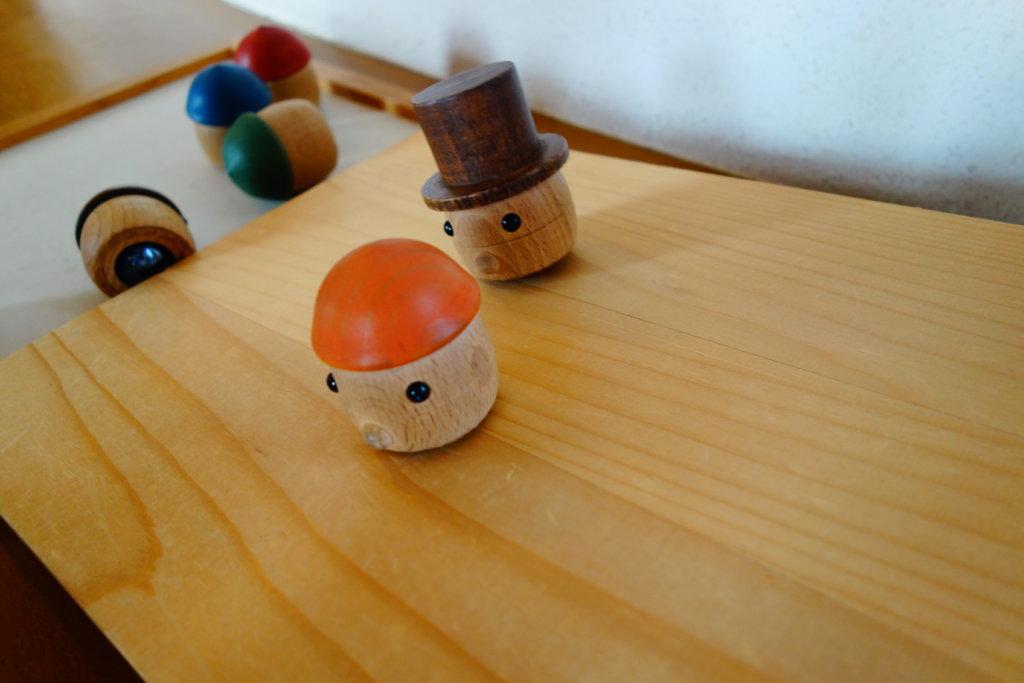 子どもからくり体験棟 おもちゃ