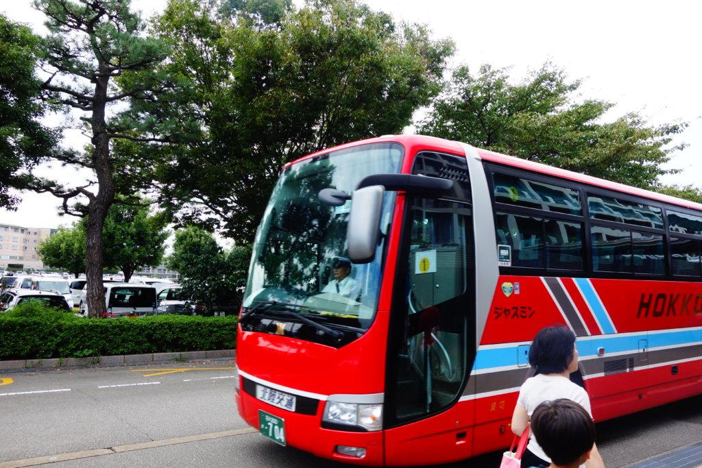 白山総合車両所 シャトルバス