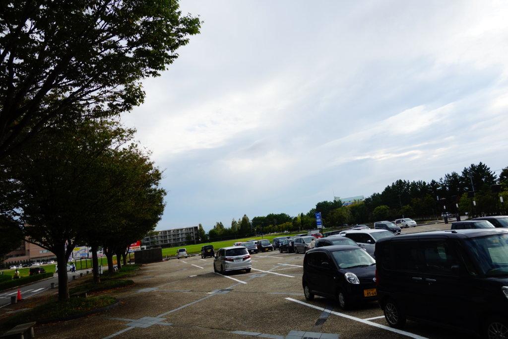 白山総合車両所 駐車場