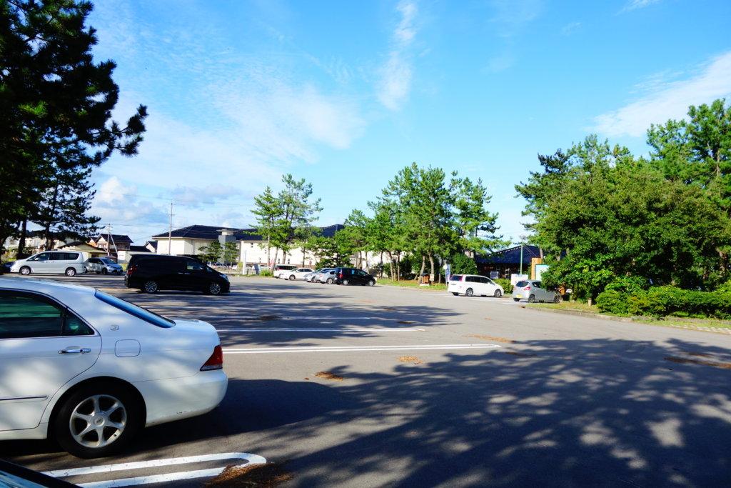 見附島 駐車場