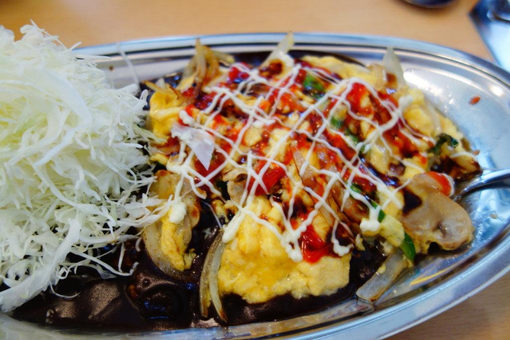 ターバンカレー 野菜玉子カレー