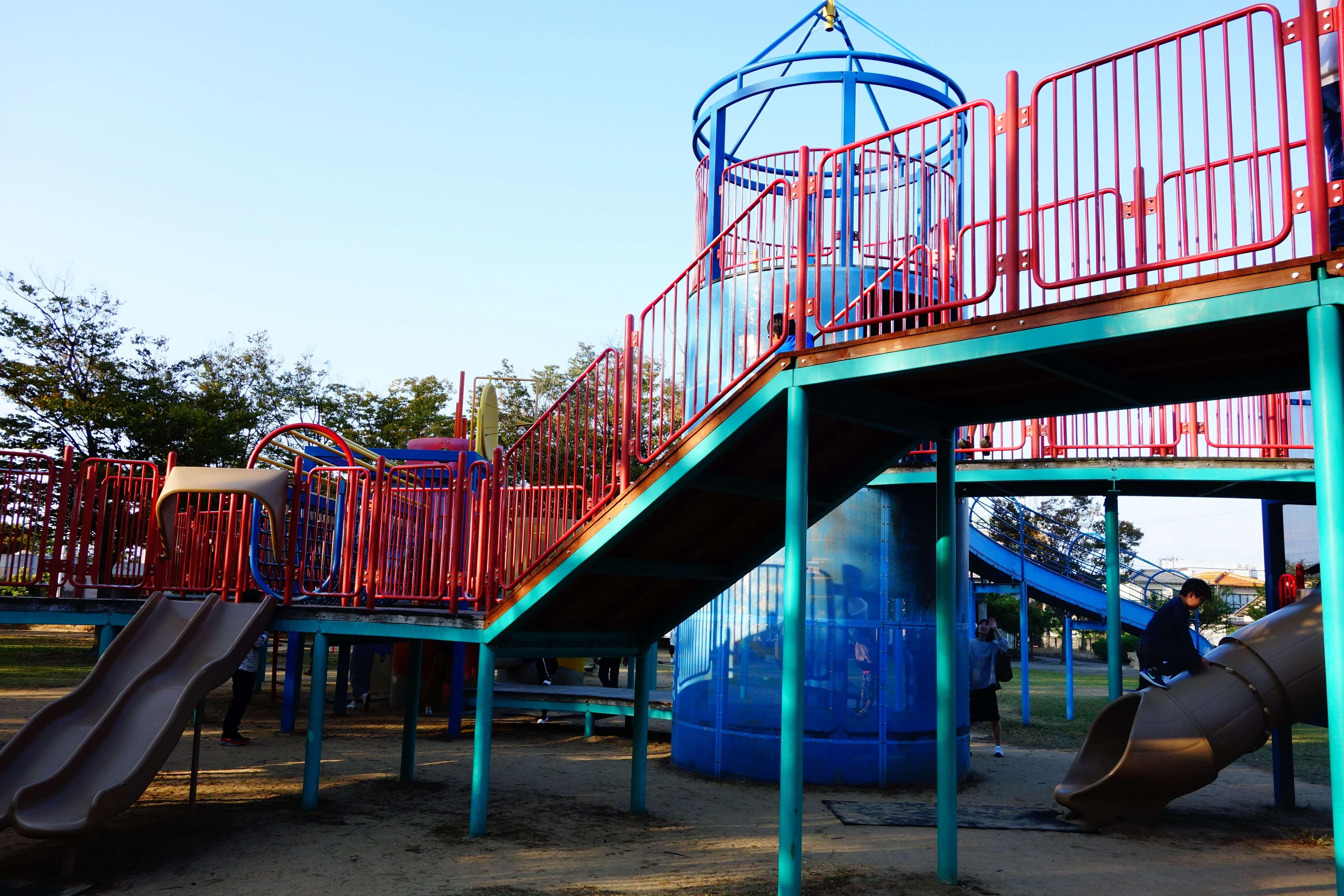 若宮公園|白山市で子どもが喜ぶ大型遊具やピクニックができる公園