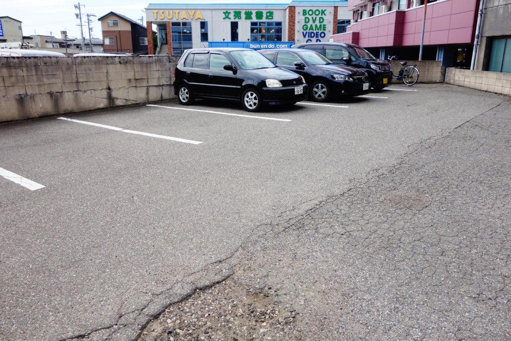 カレーの市民アルバ 駐車場