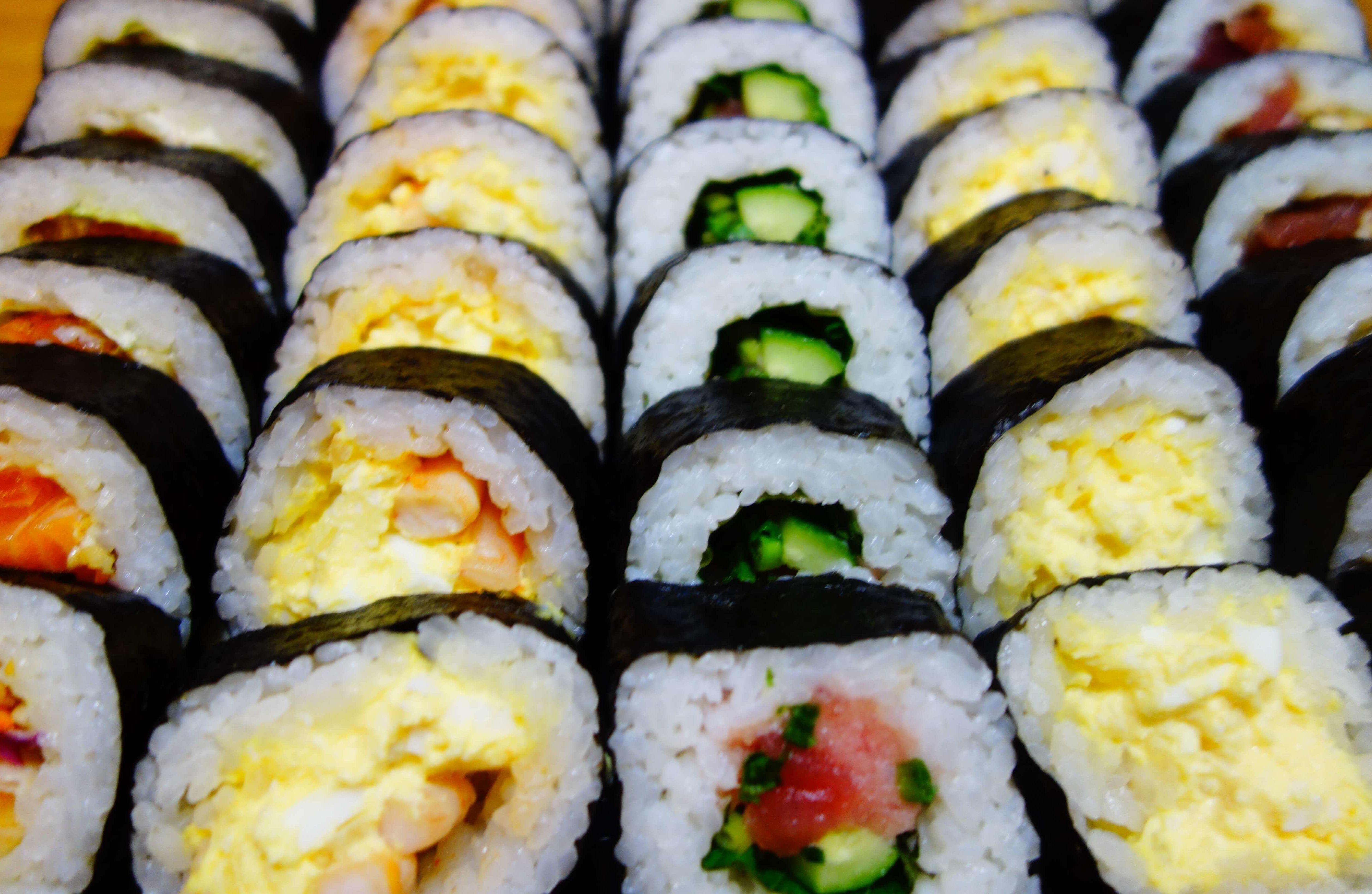 バラエティー寿司ロール