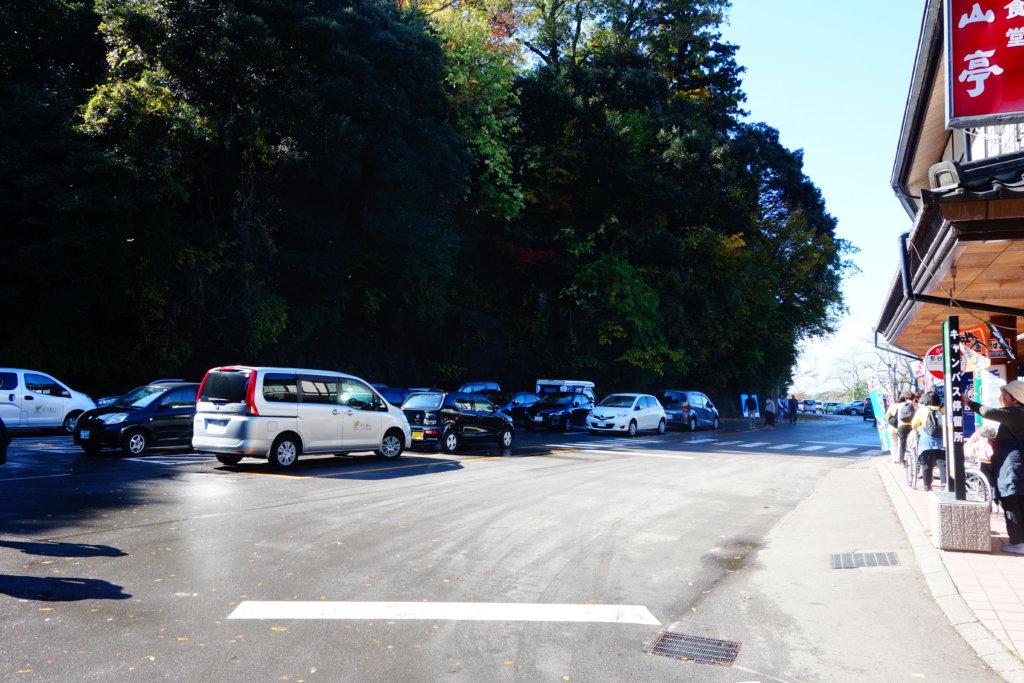那谷寺 駐車場