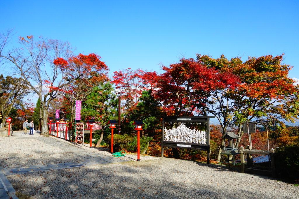 山頂本堂 紅葉
