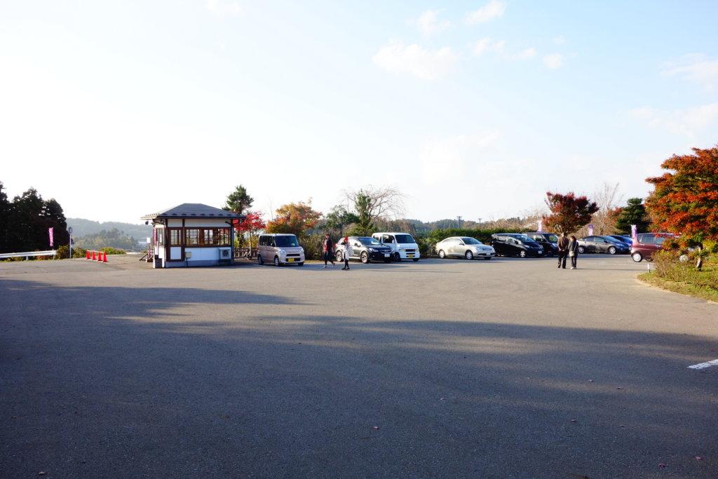 俱利伽羅不動寺 駐車場