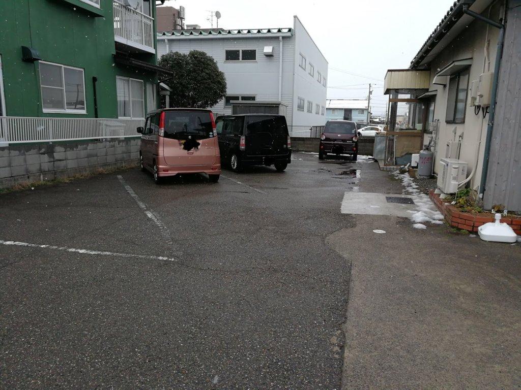 &sandの駐車場