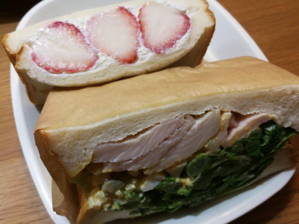 &sandのサンドイッチ