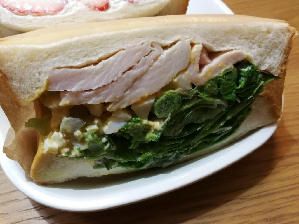 季節のサンドイッチ