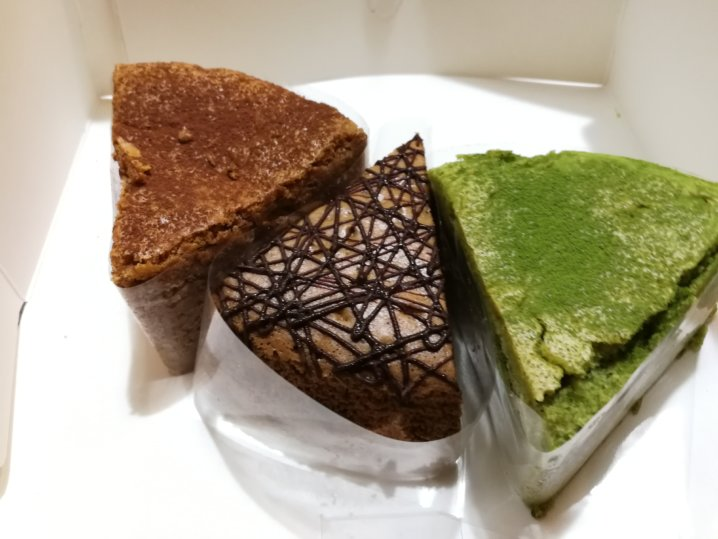 ガリバーくんの焼きたてチーズケーキ
