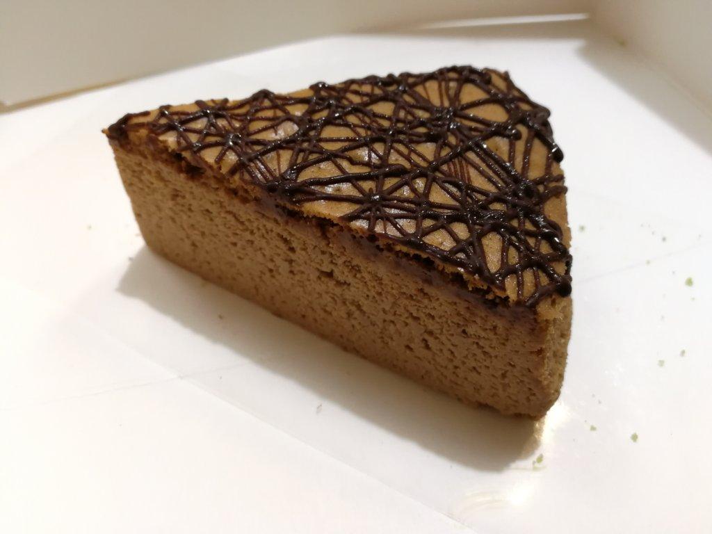 バレンタインのチーズケーキ