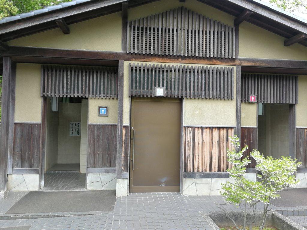 辰口丘陵公園のトイレ