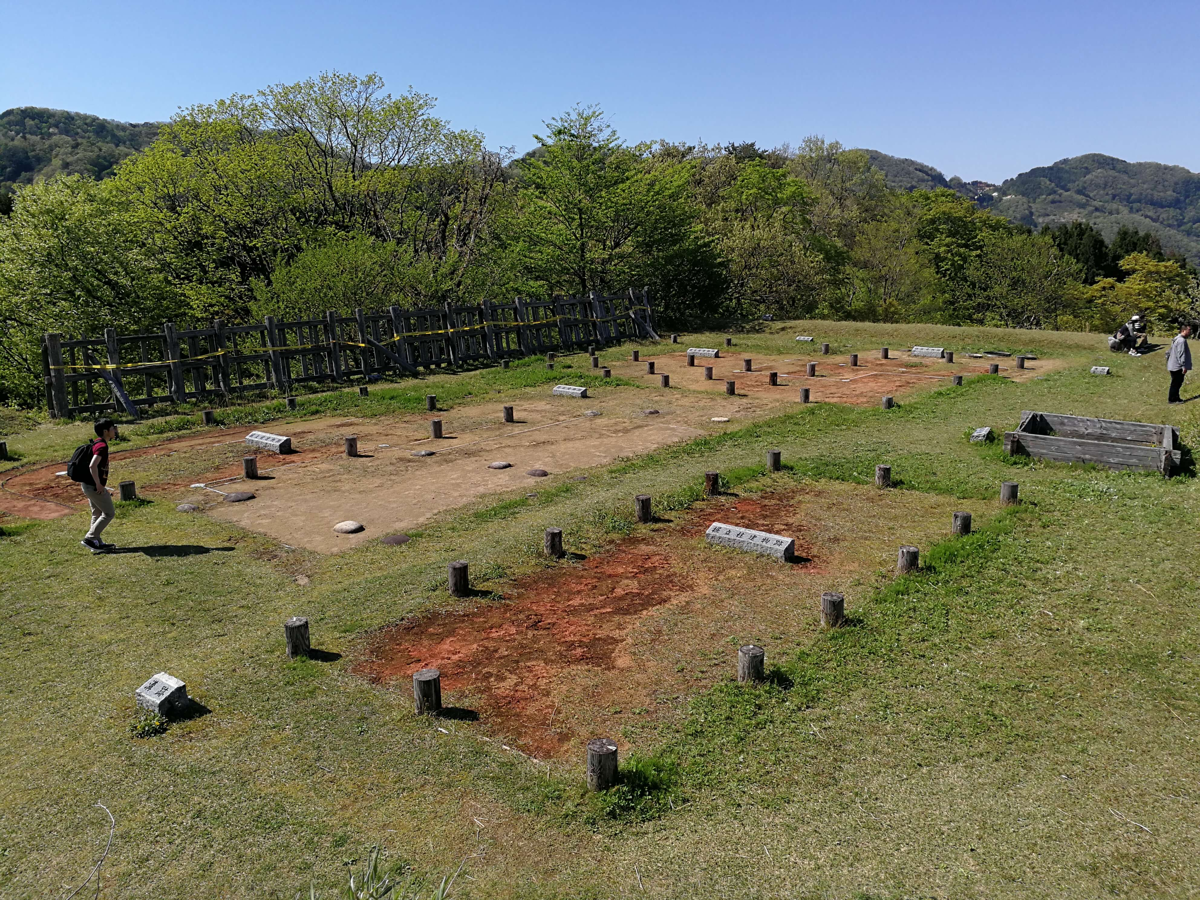 鳥越城跡の跡地