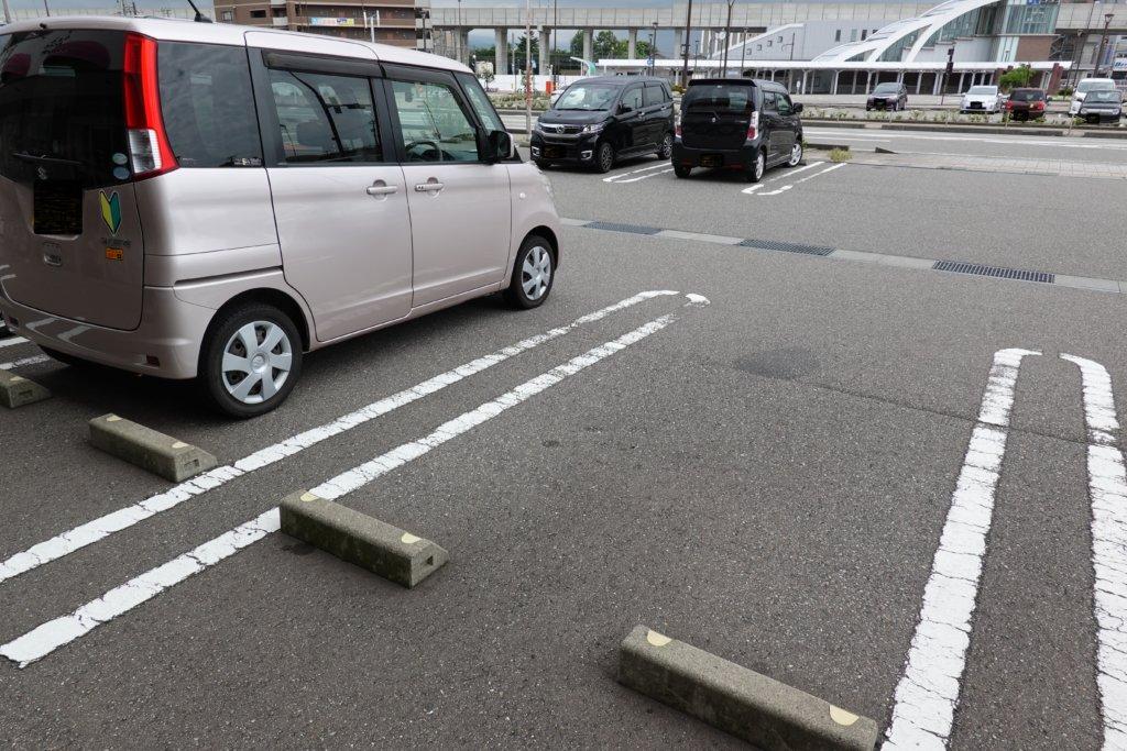 加賀三賀の駐車場