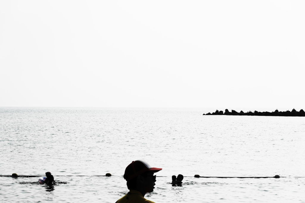 小舞子海水浴場の海