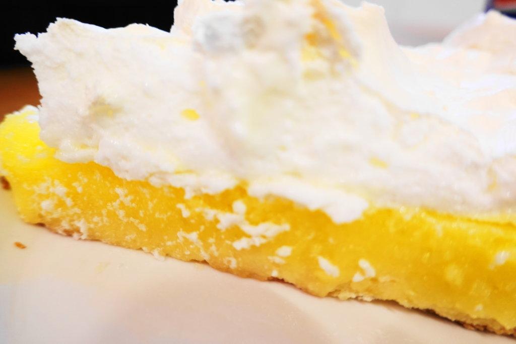 レモンメレンゲタルトのレモン