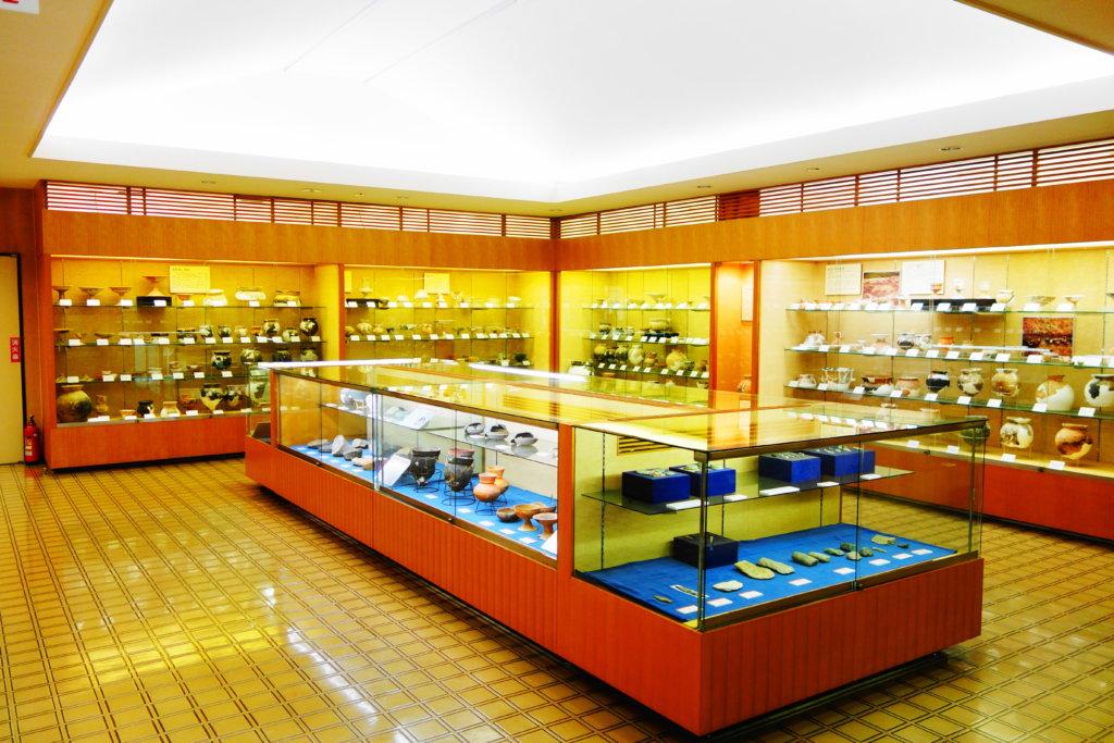 金沢市埋蔵文化財収蔵庫の遺跡