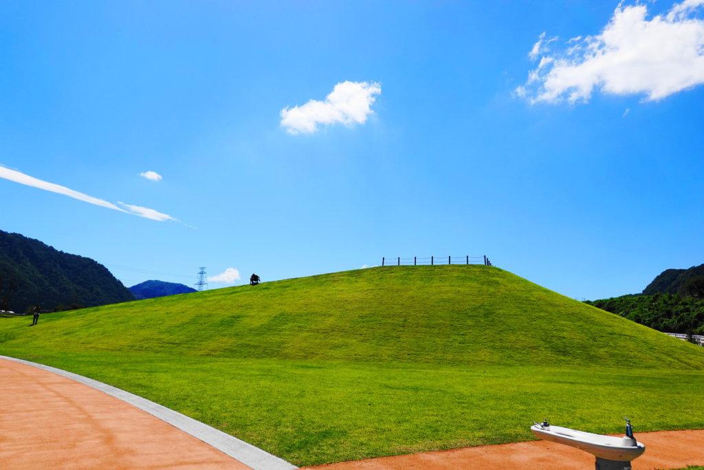 白山ろくテーマパーク河合・下野園地の山