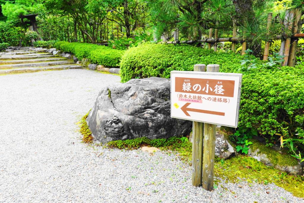 鈴木大拙館への散策路
