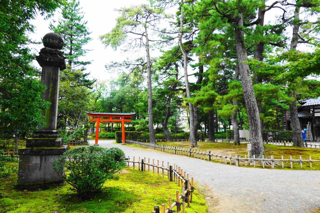 兼六園と金澤神社