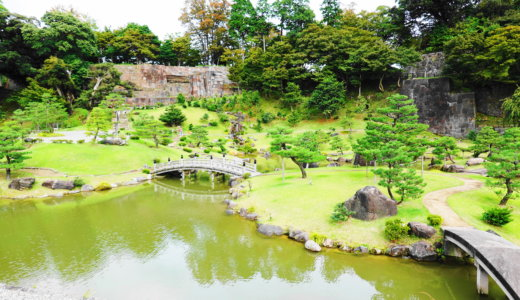 金沢城公園玉泉院丸庭園|金沢市にある日本三名園の兼六園近くにある庭園