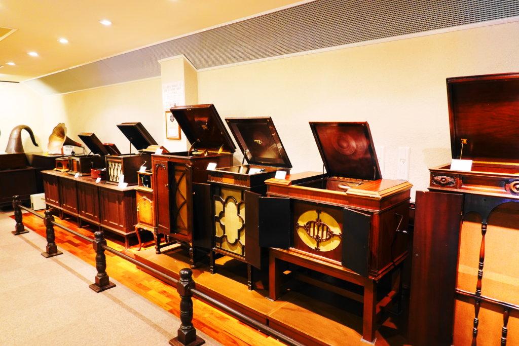 金沢蓄音器館の聴き比べ