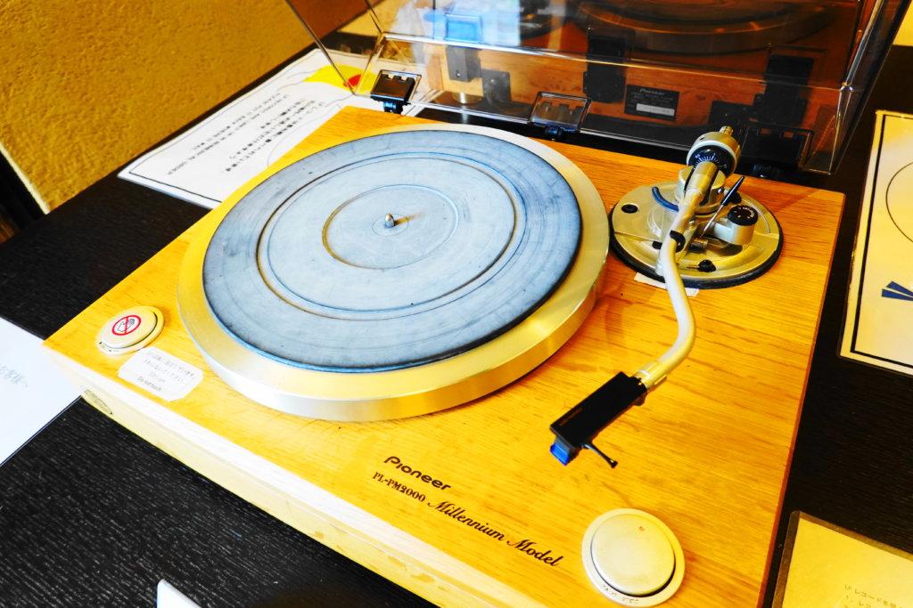 LPレコードの視聴