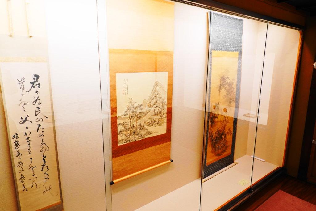 寺島蔵人邸の展示