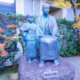 泉鏡花記念館の銅像
