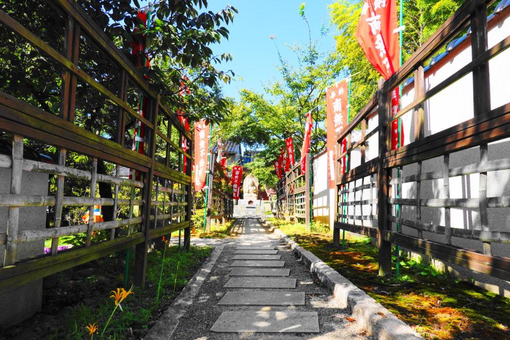 香林寺の庭