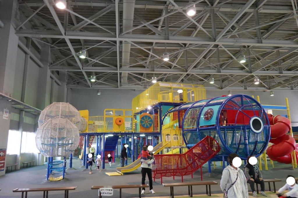 航空プラザの大型遊具