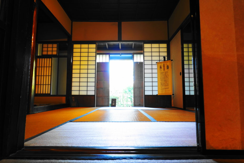 金沢市足軽資料館の部屋