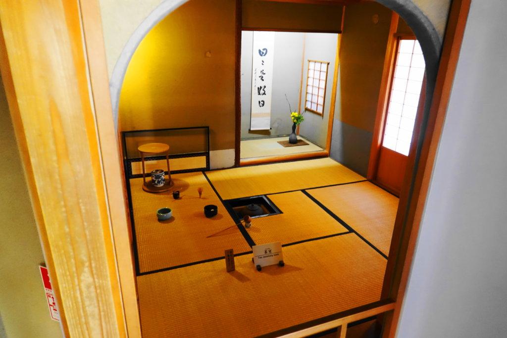 金沢市老舗記念館の座敷