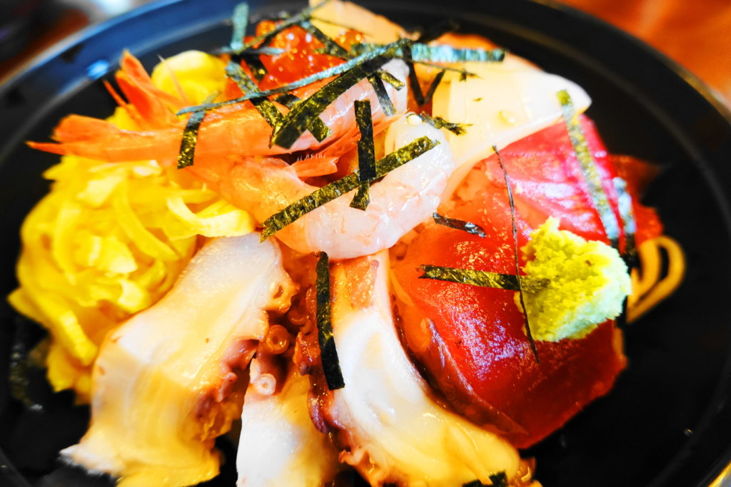 おいしい海鮮丼
