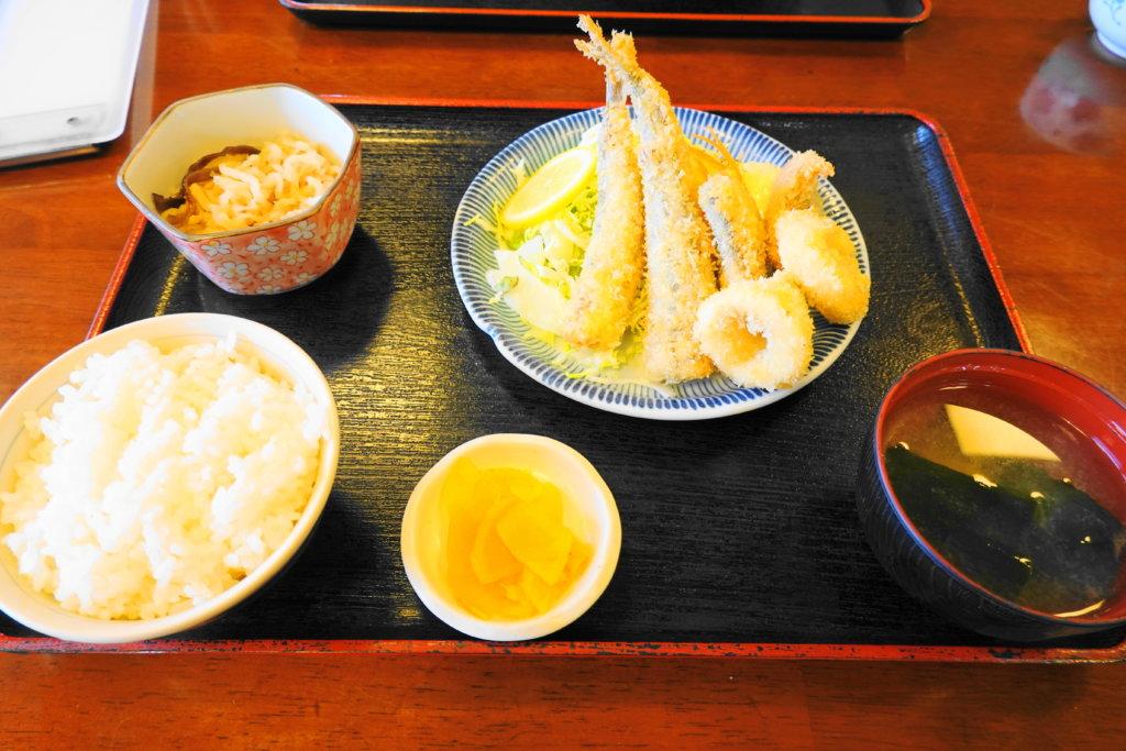 近江フライ定食