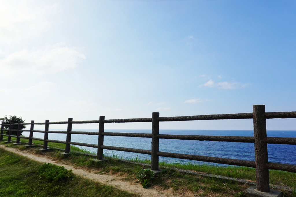 禄剛崎灯台からの絶景