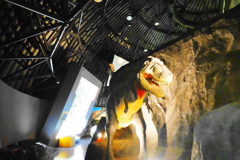 白山恐竜パーク白峰の展示物