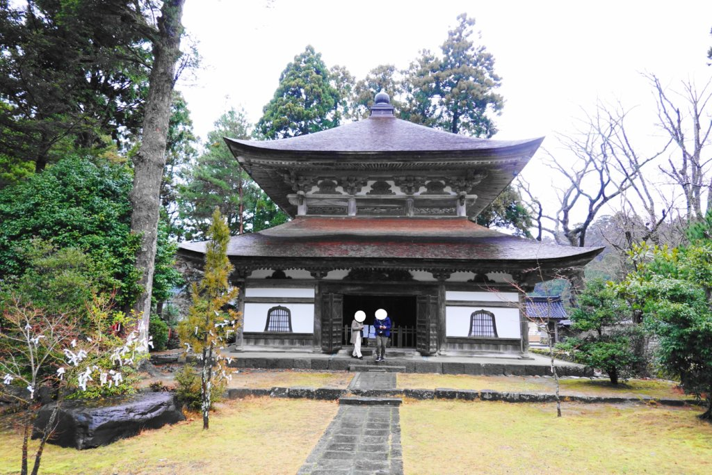 総持寺祖院の境内