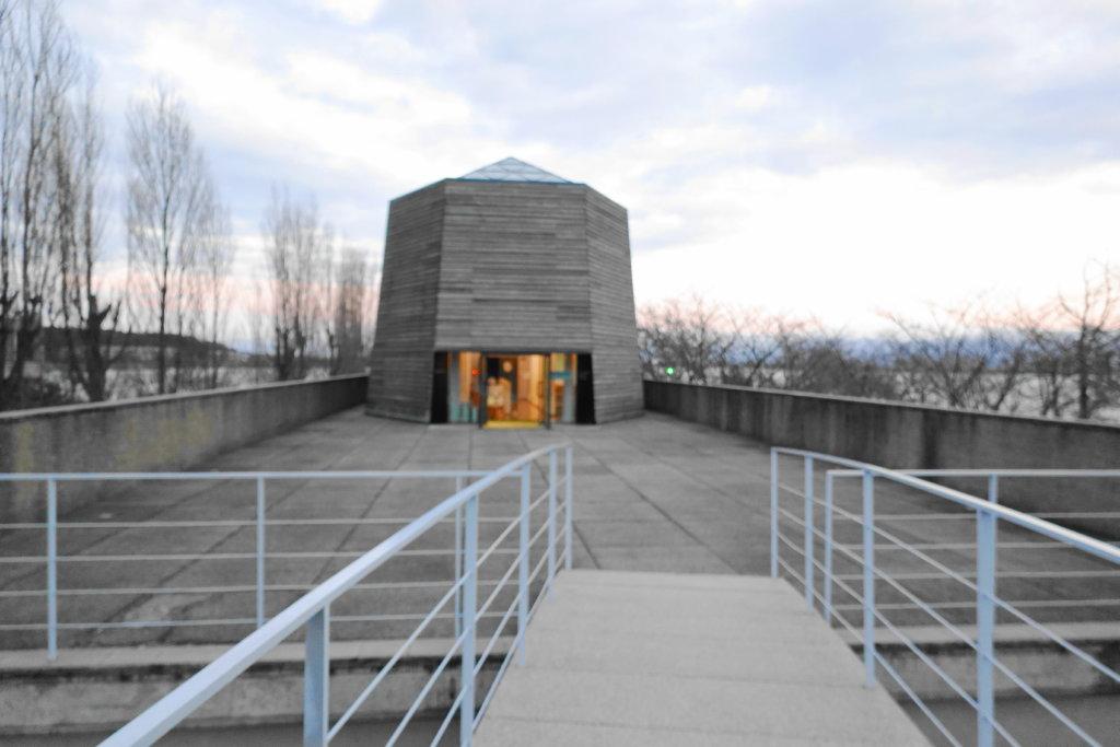 中谷宇吉郎雪の科学館の外観