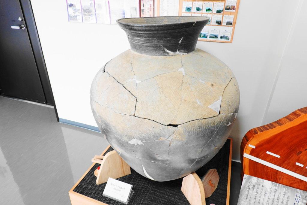 小松市埋蔵文化財センターの展示物